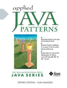 Applied Java Patterns (Paperback)-cover