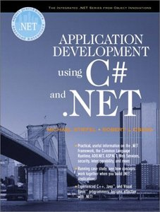 Application Development Using C# and .NET (Paperback)-cover