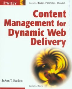 Content Management for Dynamic Web Delivery-cover