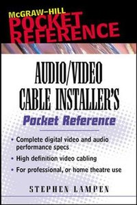 Audio/Video Cable Installer's Pocket Guide-cover