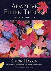 Adaptive Filter Theory, 4/e (Hardcover)-cover