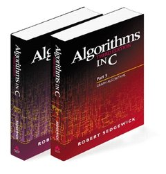 Algorithms in C, Parts 1-5 (Bundle): Fundamentals, Data Structures, Sorting, Searching, and Graph Algorithms, 3/e (Paperback)-cover