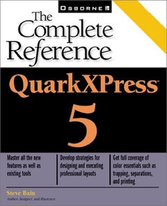 QuarkXPress 5: The Complete Reference (Paperback)-cover
