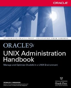 Oracle9i UNIX Administration Handbook-cover