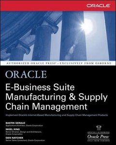 Oracle E-Business Suite Manufacturing & Supply Chain Management (Paperback)-cover