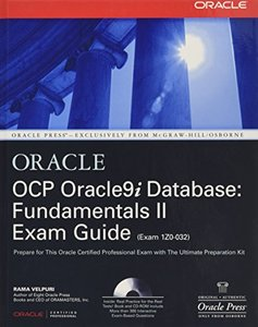 OCP Oracle9i Database: Fundamentals II Exam Guide-cover
