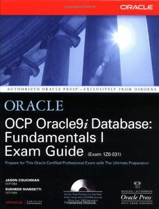 OCP Oracle9i Database: Fundamentals I Exam Guide-cover