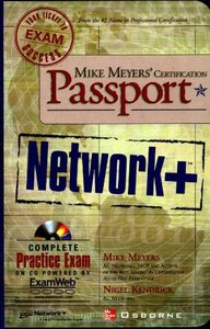 Mike Meyers' Network+ Certification Passport-cover