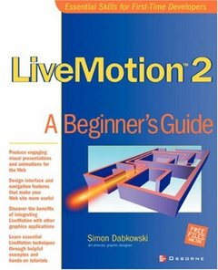 LiveMotion 2 : A Beginner's Guide (Paperback)-cover