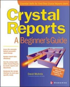 Crystal Reports 8.5: A Beginner's Guide-cover