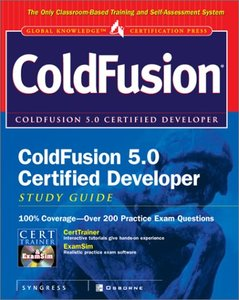 ColdFusion 5.0 Certified Developer Study Guide (Hardcover)-cover
