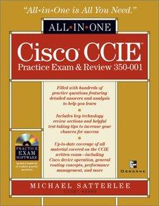 Cisco CCIE Practice Exam & Review 350-001-cover