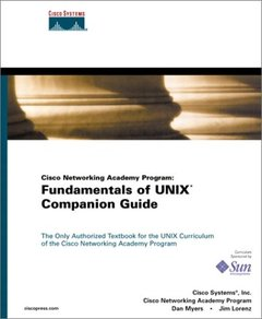 Cisco Networking Academy Program: Fundamentals of UNIX Companion Guide (Hardcover)-cover