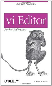 VI Editor Pocket Reference-cover