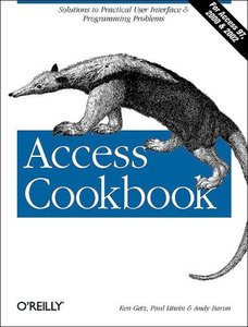 Access Cookbook (Paperback)-cover
