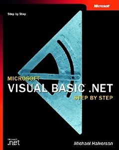 Microsoft Visual Basic .NET Step by Step-cover