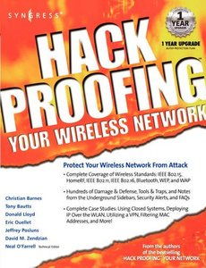 Hack Proofing Your Wireless Network-cover