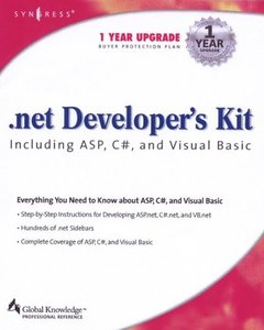 .NET Developer's Kit Including ASP, C#, and Visual Basic-cover