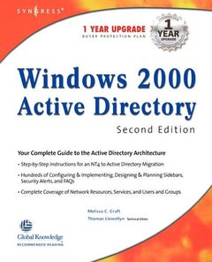 Windows 2000 Active Directory, 2/e-cover