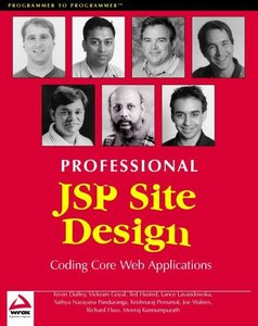 Professional JSP Site Design-cover