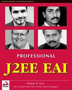 Professional J2EE EAI (Paperback)-cover