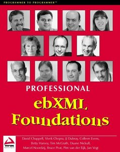 Professional ebXML Foundations-cover