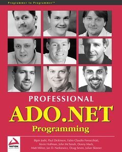Professional ADO.NET-cover