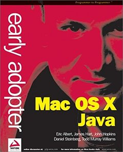 Early Adopter Mac OS X Java (Paperback)-cover