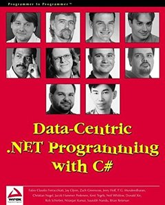 Data-Centric .NET Programming with C# (Paperback)-cover