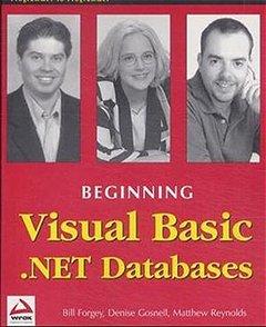 Beginning Visual Basic .NET Databases-cover