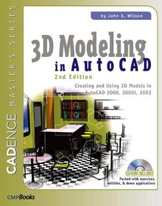 3D Modeling in AutoCAD, 2/e-cover