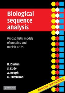 Biological Sequence Analysis: Probabilistic Models of Proteins and Nucleic Acids (Paperback)-cover