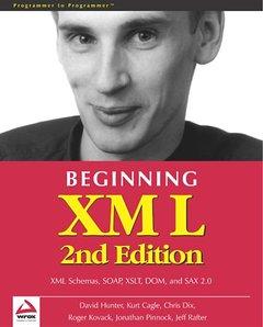 Beginning XML, 2/e-cover