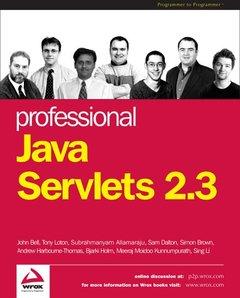 Professional Java Servlets 2.3-cover