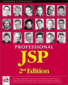 Professional JSP, 2/e-cover