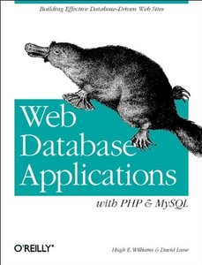 Web Database Applications with PHP & MySQL (Paperback)-cover