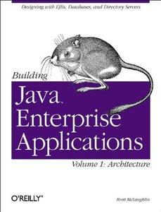 Building Java Enterprise Applications, Vol. 1: Architecture-cover
