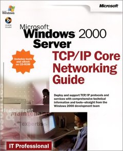 Microsoft Windows 2000 Server TCP/IP Core Networking Guide (Paperback)-cover