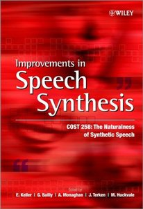 Improvements in Speech Synthesis-cover