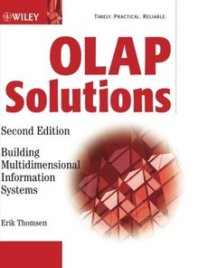 OLAP Solutions: Building Multidimensional Information Systems, 2/e-cover