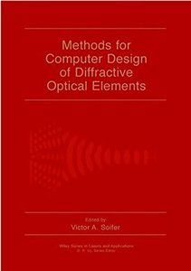 Methods for Computer Design of Diffractive Optical Elements (Hardcover)-cover
