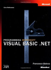 Programming Microsoft Visual Basic .NET-cover