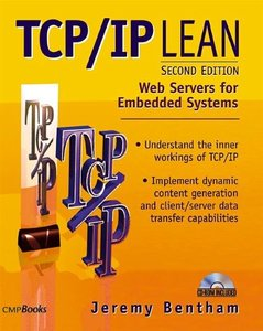 TCP/IP Lean: Web Servers for Embedded Systems, 2/e-cover