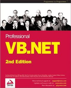 Professional VB.NET, 2/e-cover