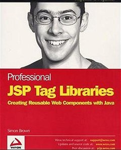 Professional JSP Tag Libraries (Paperback)-cover