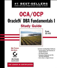 OCA/OCP: Oracle9i DBA Fundamentals I Study Guide-cover