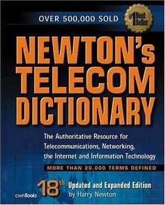 Newton's Telecom Dictionary, 18/e-cover