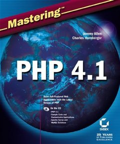 Mastering PHP 4.1-cover