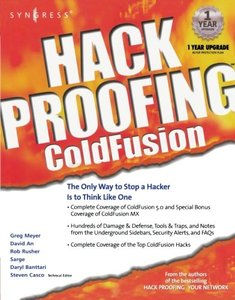 Hack Proofing ColdFusion-cover
