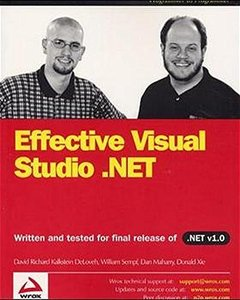 Effective Visual Studio .Net-cover